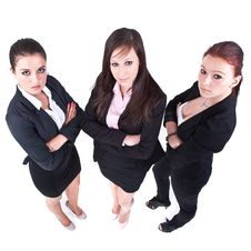 Free Businessladies On The Rise Stock Photography - 20236392