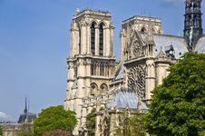 Free Notre Dame De Paris Royalty Free Stock Image - 20236486