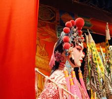 Free Cantonese Opera Dummy Close-up. Royalty Free Stock Photography - 20236627