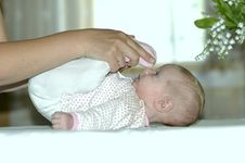 Free Baby Doing Some Stretching Stock Photo - 20236710