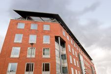 Free Red Brick Office Block Royalty Free Stock Image - 20238736