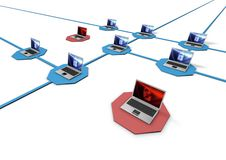 Free Network Concept Royalty Free Stock Image - 20239636