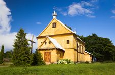 Free Wooden Church Stock Images - 20239984
