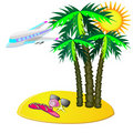 Free Fly To Tropic Vacation Stock Photography - 20242382