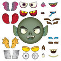 Free Monster Color  Head Royalty Free Stock Photo - 20243815