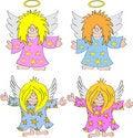 Free Angel Cartoon Royalty Free Stock Image - 20244586