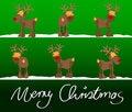 Free Xmas Card Merry Christmas Royalty Free Stock Photos - 20244678