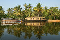 Free House Boat In The Kerala (India) Royalty Free Stock Photo - 20248725