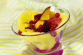 Free Delicious Fresh Fruit Salad Served In Bowl As Dess Stock Image - 20249101
