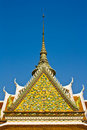 Free Top Part Of Thai Style Architecture Royalty Free Stock Photography - 20249877