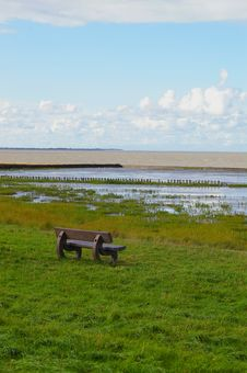 Free World Heritage Tidal Flats North Sea Stock Photography - 20241162