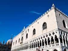 Free Doge S Palace , Cathedral Of San Marco In Venice Royalty Free Stock Image - 20241376