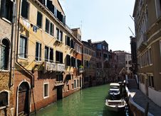 Free A Quiet One Of Canals In Venice Italy Stock Photo - 20241470
