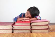 Free Boy And Books Royalty Free Stock Images - 20241959