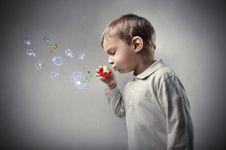 Free Bubbles Royalty Free Stock Images - 20242059