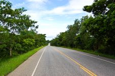 Free Road,Thailand ,Mukdahan Stock Photography - 20242162
