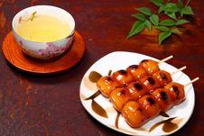Free Dango And Tea Stock Photos - 20242193