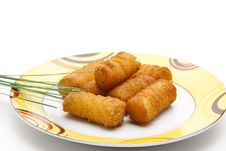 Free Croquettes With Chives Stock Images - 20242344