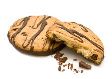 Free Chocolate Cookies With Nuts Royalty Free Stock Photography - 20242367