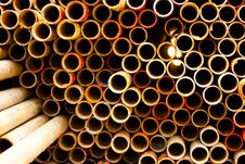 Free Pipe For Scaffolding Royalty Free Stock Photo - 20242655