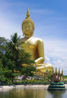 Free Big Buddha Royalty Free Stock Image - 20242706