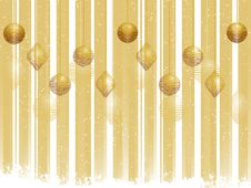 Free Gold Christmas Bauble Background Royalty Free Stock Photos - 20242928