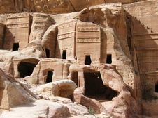 Free The Ancient City Of Petra Stock Photo - 20243130