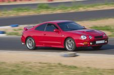 Free Fast Car In A Race Royalty Free Stock Images - 20243529