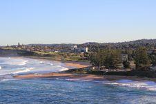 Free Bongin Bay Australia With Mona Vale Beach Royalty Free Stock Photo - 20243775