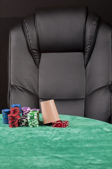 Empty Place For Gambling Stock Images
