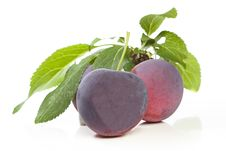 Free Plum Still Life Stock Images - 20244814