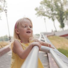 Free Little Happy Girl Royalty Free Stock Photos - 20245428
