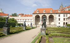 Free Parlament Buildings And Park, Prague Stock Photos - 20245473