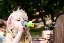 Free Little Happy Girl Stock Photo - 20245500
