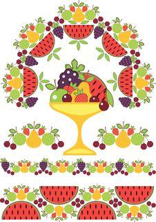 Free Pattern Of Fruit Stock Photos - 20245693