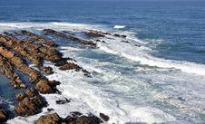 Rocky Shoreline. Stock Image