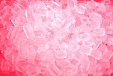 Free Red Ice Cubes Stock Images - 20245834