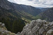 Free Tara S Canyon Viewed From Curevac Stock Photo - 20246410