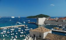 Free Dubrovnik Harbour Royalty Free Stock Image - 20246586