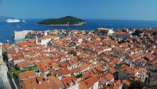 Free Rooftops And The Harbour Of Dubrovnik Royalty Free Stock Photos - 20246588
