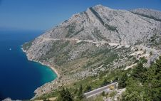 Free The Coastal Road To Split, Croatia Royalty Free Stock Images - 20246609