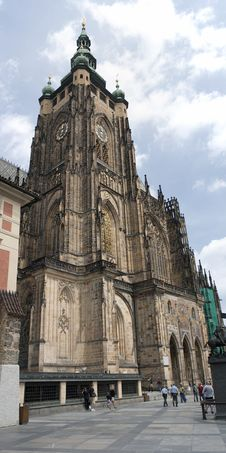 Free Saint Vitus Cathedral Royalty Free Stock Photography - 20246687