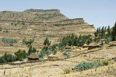 Free Ethiopian Huts Royalty Free Stock Image - 20248956