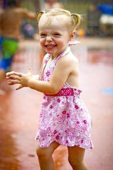 Free Girl At Waterpark Stock Image - 20249071