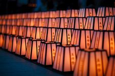 Free Hattasan Shrine Lantern Festival-6 Royalty Free Stock Image - 20249586