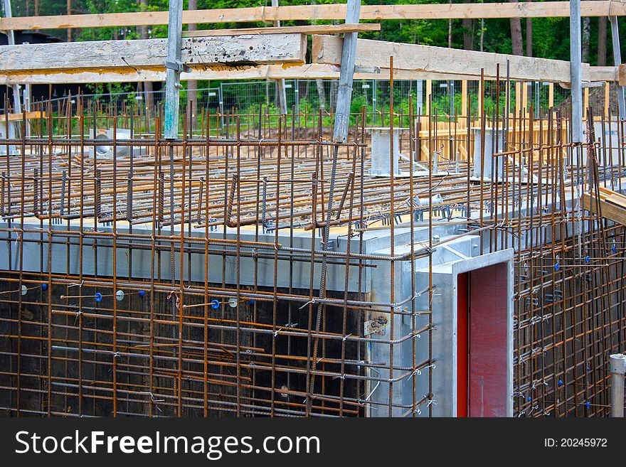 Reinforcing site