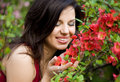 Free Woman In Garden Stock Image - 20252521