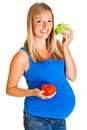 Free Pregnant Woman With Vegetables Stock Photos - 20254203