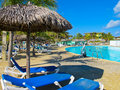 Free Swimming Pool At The Resort (Cuba, Caribbeans) Royalty Free Stock Photography - 20256127