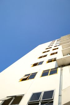 Free Building Against Blue Sky Stock Photography - 20250332